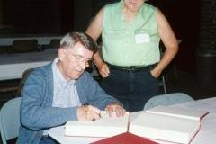 2001 reunion Gerald James Parsons signing Nancy Armstrong