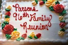 parsons family reunion cake