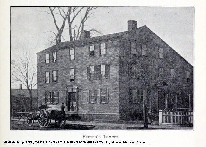 parson's tavern