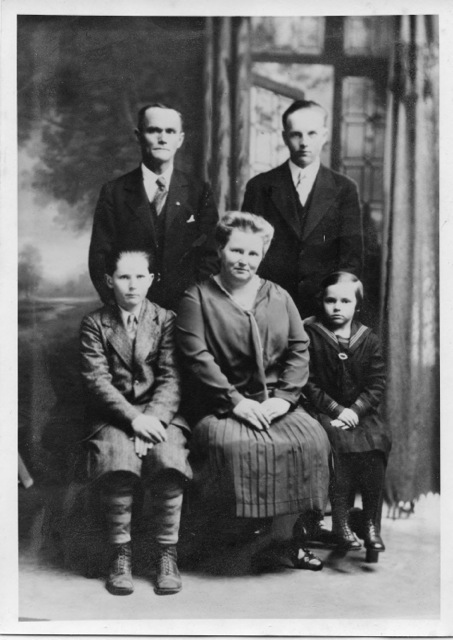parsons family photo